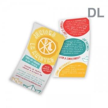 Impresión flyers dl 10x21