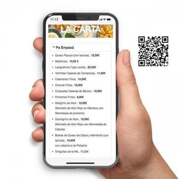 Carta Digital Restaurante con QR